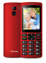 CPA Halo Plus Red