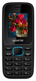 Aligator D200 Dual SIM Black Blue