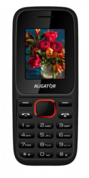 Aligator D200 Dual SIM Black Red