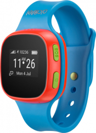 Alcatel MoveTime Track&Talk Watch Blue Red