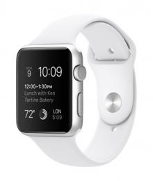 Apple Watch Sport 42mm White CPO 12 měsíců záruka